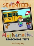 Maths Reasoning Tests  - Unit for Grade 2 & 3.