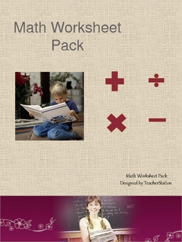 Maths worksheet Pack
