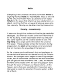 Matter: Common Core Reading and Writing Activity