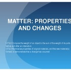 Matter: Properties and Changes Complete UNIT 5th Grade