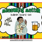 Matter Unit Bulletin Board Set (Full Color)