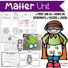 Matter Unit { States of Matter ~ Solids, Liquids, Gases }