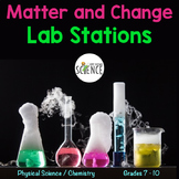 Matter and Change 4 Mini Labs (Elements, compounds, mixtur