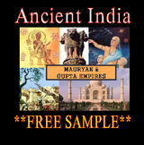 Mauryan & Gupta Empires of Ancient India PowerPoint Presentation