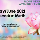 May 2013 Calendar for the Promethean Board