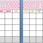 May 2014 Editable/Customizable Curriculum Planning Calendar