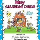 May Calendar Cards - FREEBIE