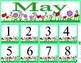 May Calendar Set