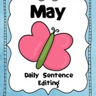 May Daily Sentence Editing