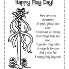 May Day Poem Freebie