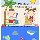 May Literacy Journal &amp; Calendar Journal