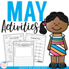 May Printables for Morning Work Common Core