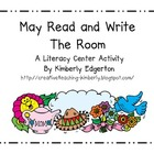 May Read and Write the Room