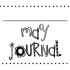 May Sight Word Journal
