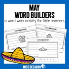 May Word Builders Freebie Pack!
