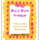 May Word Work Freebie