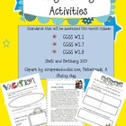 May Writing Activities for Common Core