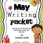 May Writing- Helping students with handwriting and writing