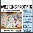 May Writing Pages for Class Share Time