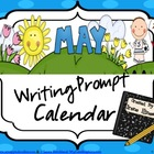May and Spring Writing Prompt Calendar ~{Common Core Standards}