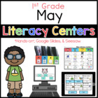 May literacy Menu 1st Grade