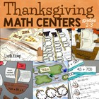 Mayflower Math {November Math Stations}