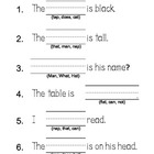 McGraw Hill Reading Wonders 1st Grade Unit 1 Week 1 Senten
