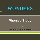 McGraw-Hill Wonders PHONICS STUDY BOARD - Grade 2:  Unit 3