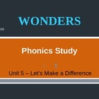 McGraw-Hill Wonders PHONICS STUDY BOARD - Grade 2:  Unit 5
