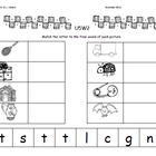 Kindergarten McGraw-Hill Wonders: Unit 5 Week 2- Lesson Pl