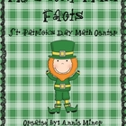 Me Lucky Math Facts St. Patrick's Day Math Center