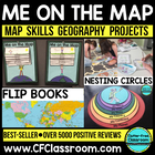 Me on the Map - A Social Studies &amp; Language Arts Project