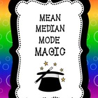 Mean Median Mode Magic: BUNDLE
