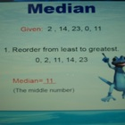 Mean, Median, Mode and Range - Animated Power Point