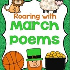Roaring into March With Poems: Grades 1-2