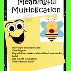 Meaningful Multiplication Best Seller  Rhymes/Chants To He