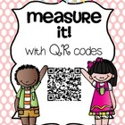 Measure It! with QR Codes {Centimeters, Inches, Non-Standard)