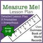 Measurement Lesson Plan: Measure Me!
