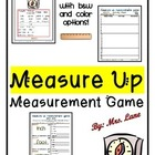 Measure Up! A Measurement Game (Great Whole-Class Activity!)