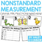 Measure the Animals with Non Standard Units!