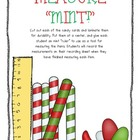 Measure&quot;Mint&quot;! {A Holiday FREEBIE!}