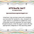 Measurement Attribute Sort