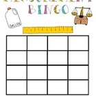 Measurement Bingo Game