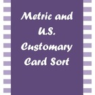 Measurement Card Sort