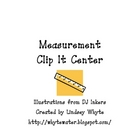 Measurement Clip It Center for Non-Standard and Standard