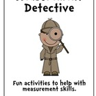 Measurement Detective Pack - Length, Time and Mass