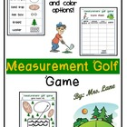 Measurement Golf Game (For Elementary Students)