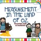 Measurement In The Land Of Oz {centimeters} - 10 Math Centers