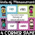 Measurement Mambo - A Unit Choosing 4 Corner Game