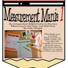 Measurement Mania 1: Practice measuring to the inch and half-inch